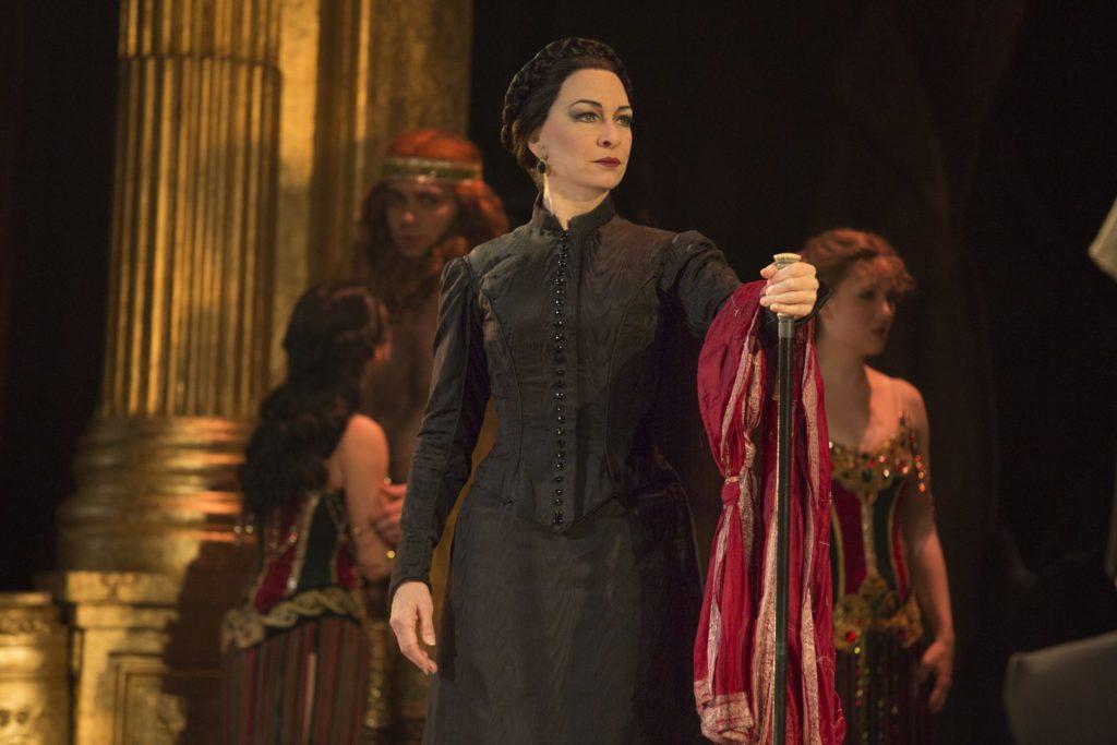 "Anne Kanengeiser as Madame Giry in the Broadway Sacramento presentation of ""The Phantom of the Opera"