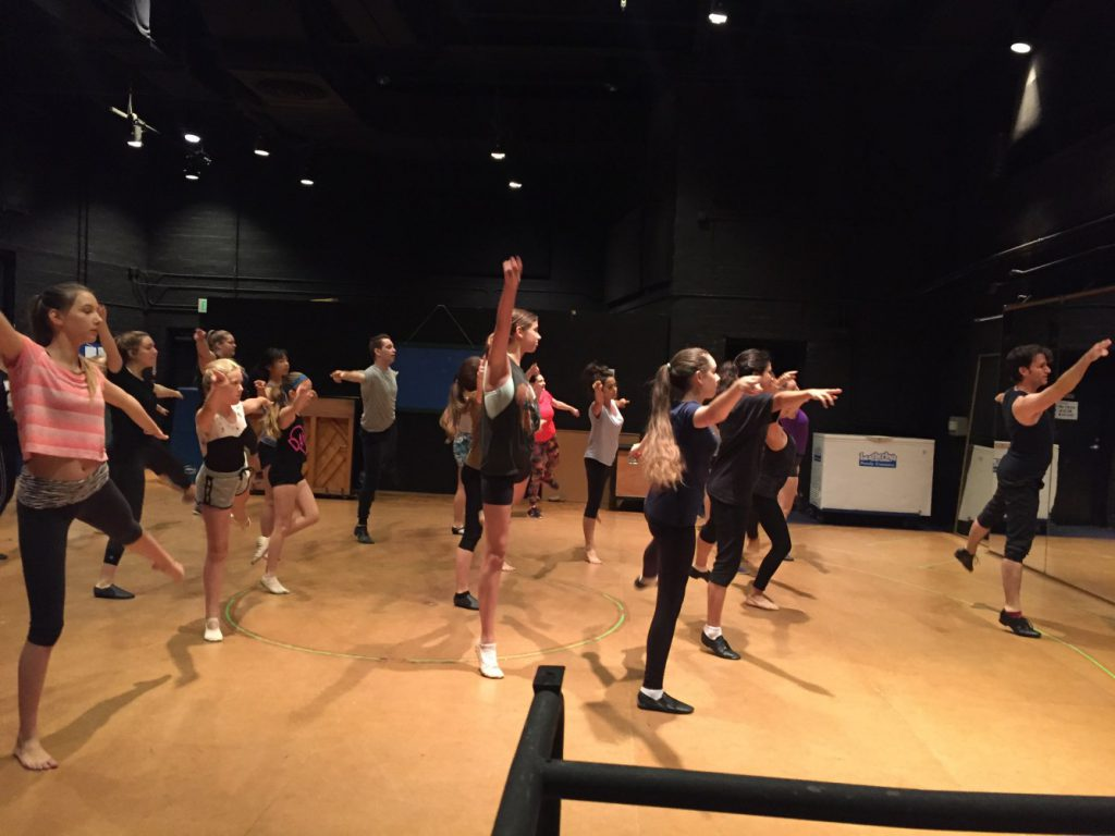 Music Circus Master Dance Class Series on June 28th