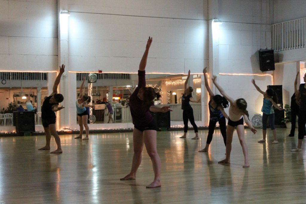 WEST SIDE STORY Music Circus Master Dance Class 2015.