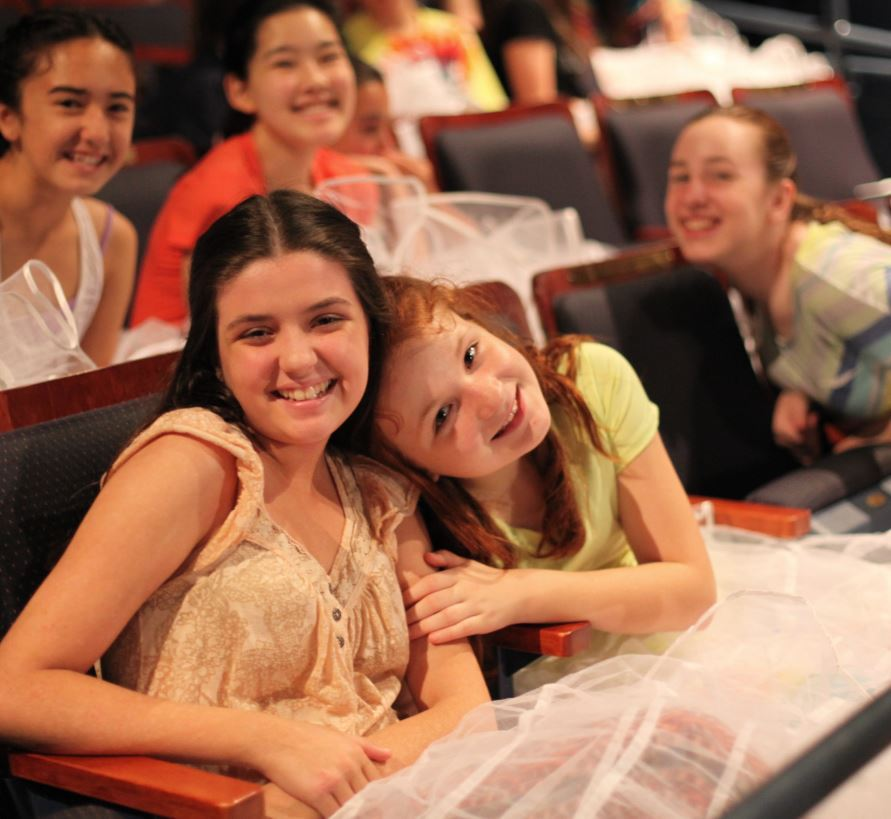Junior Company members during rehearsals for Bye Bye Birdie, summer 2015. Photo by Susan P. Miller.