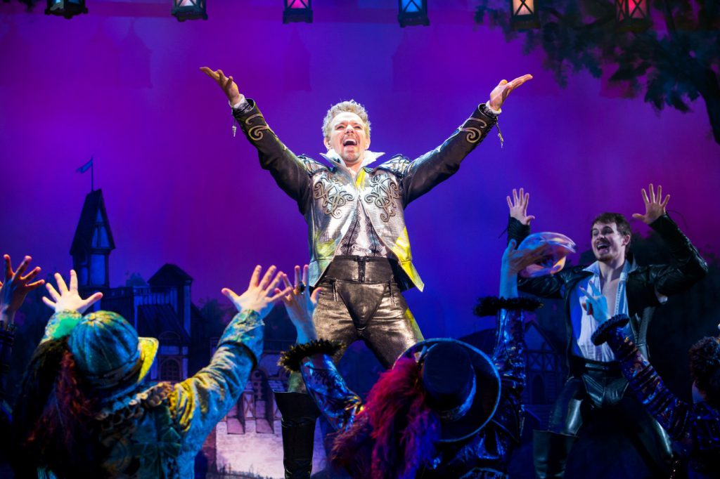Adam Pascal and the cast of Something Rotten! presented by Broadway Sacramento at the Community Cent