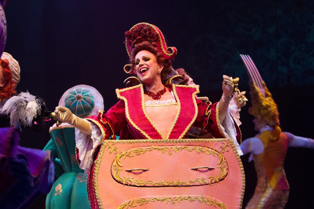 Jacquelyn Piro Donovan as Madame de la Grande Bouche in Disney's Beauty and the Beast, produced by M