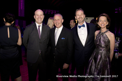 Chris Granger, Mayor Darrell Steinberg, David Sobon, Jennifer Granger