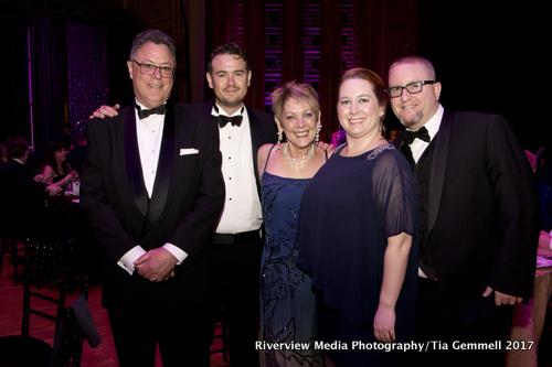 Richard, Joseph, & Joann Lewis, Anna & Kevin Cowan