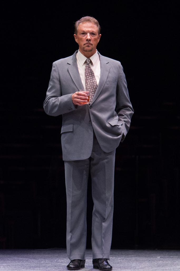 Paul Schoeffler as Franklin Hart Jr in 9 to 5, The Musical produced by Music Circus at the Wells Far