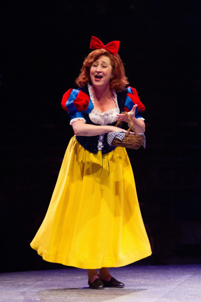 Vicki Lewis as Violet Newstead in 9 to 5, The Musical produced by Music Circus at the Wells Fargo Pa