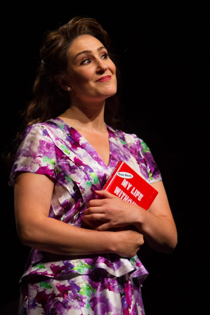 Anne Brummel as Judy Bernly in 9 to 5, The Musical produced by Music Circus at the Wells Fargo Pavil