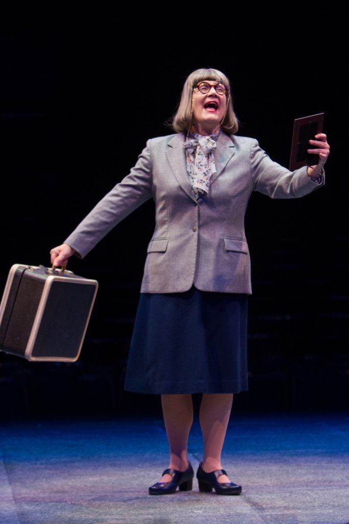Kristine Zbornick as Roz Keith in 9 to 5, The Musical produced by Music Circus at the Wells Fargo Pa