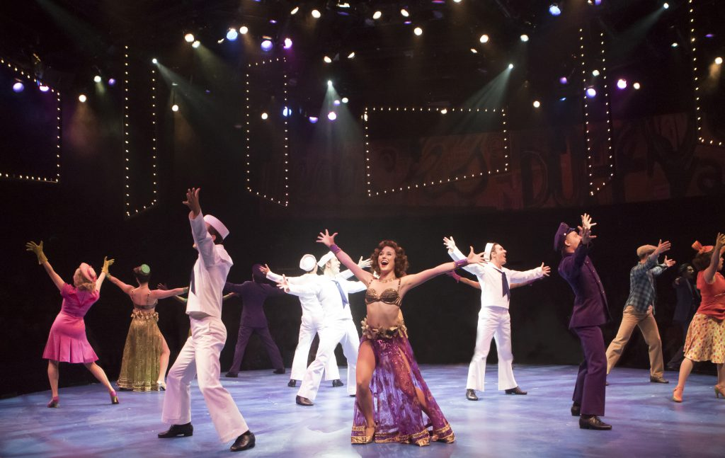 The company of On the Town, produced by Music Circus at the Wells Fargo Pavilion July 11 - 16. Photo