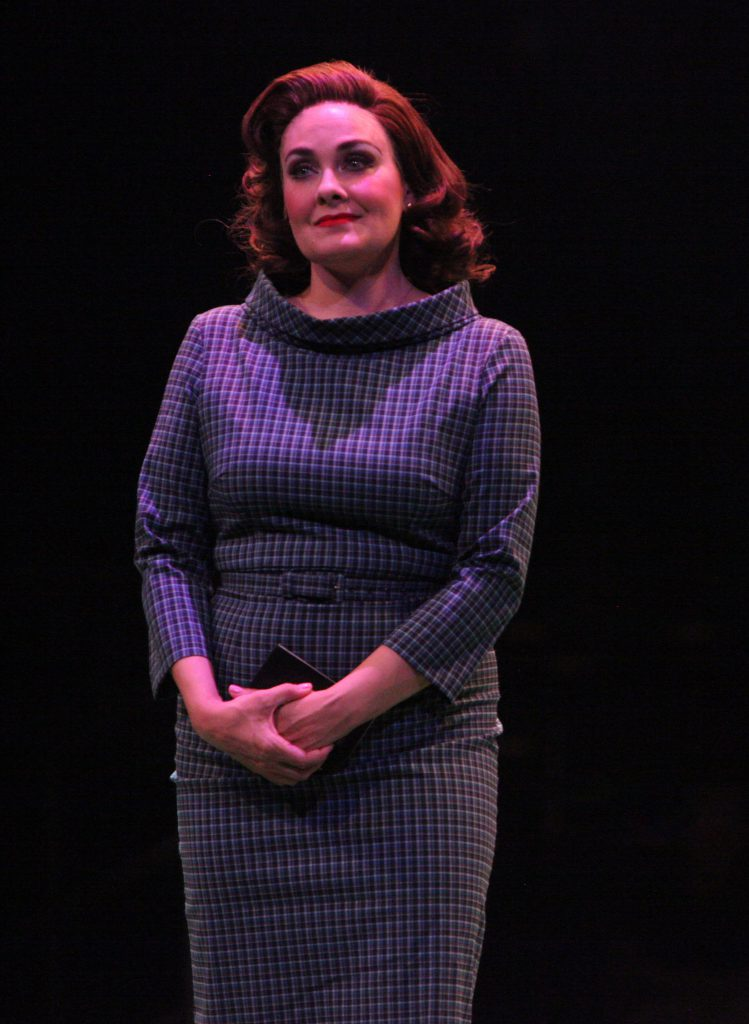 Danette Holden as Gloria Thorpe in Damn Yankees produced by Music Circus at the Wells Fargo Pavilion