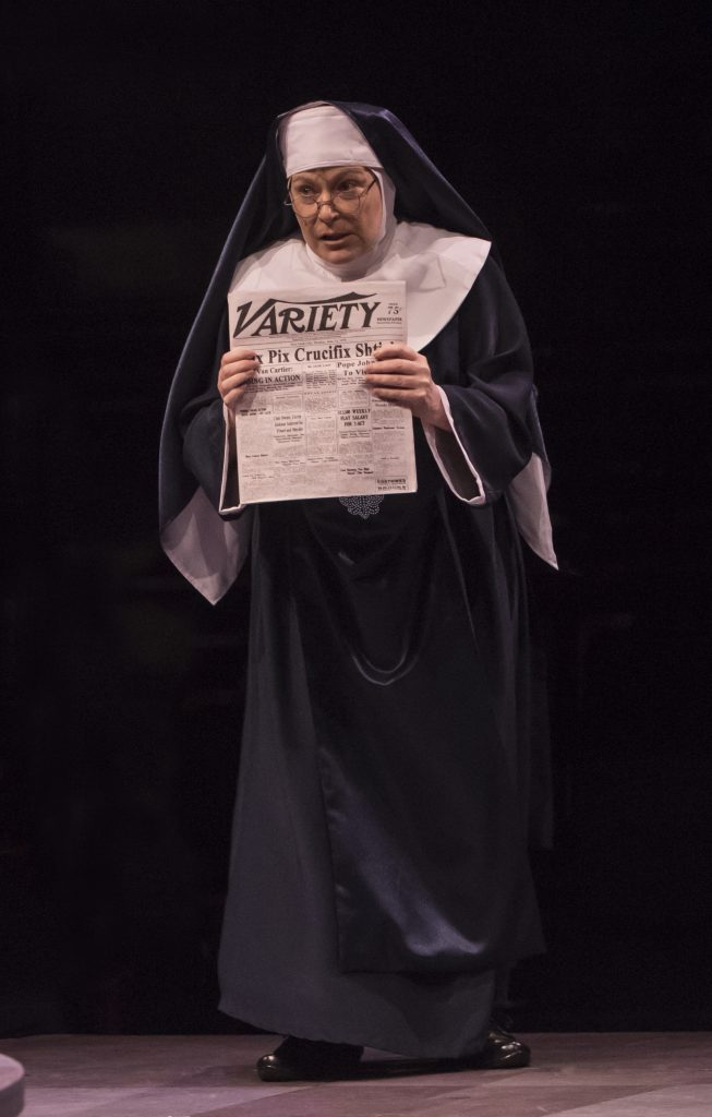 Mary Jo Mecca as Mary Theresa in Sister Act produced by Music Circus at the Wells Fargo Pavilion Aug