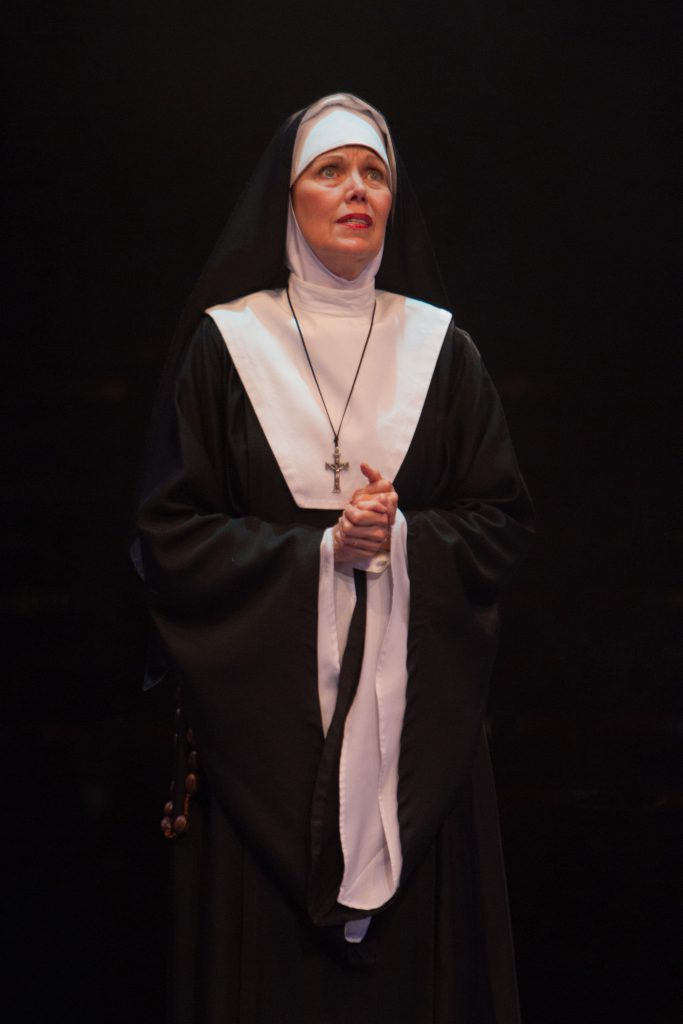 Lynne Wintersteller as Mother Superior in Sister Act produced by Music Circus at the Wells Fargo Pav