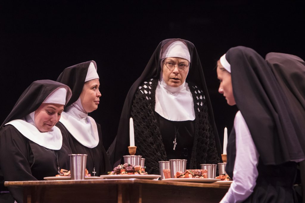 Katherine Cooper, Nicole Sterling, Mary Jo Mecca as Mary Theresa and Jeanna De Waal as Mary Robert i