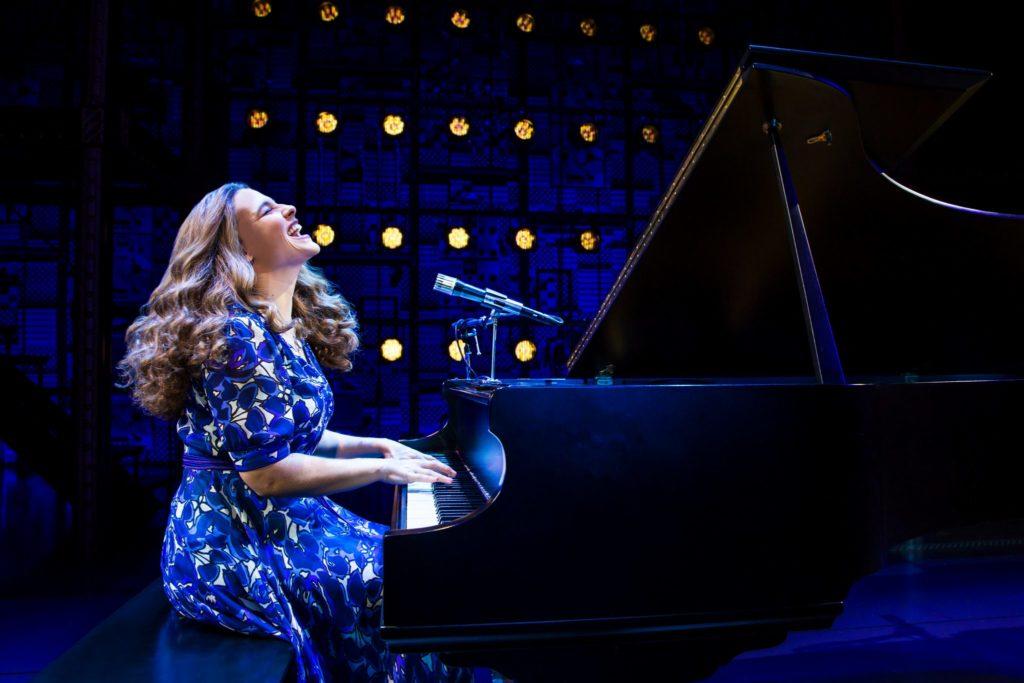 "Sarah Bockel as Carole King in the Broadway Sacramento presentation of ""Beautiful – The Carole King"