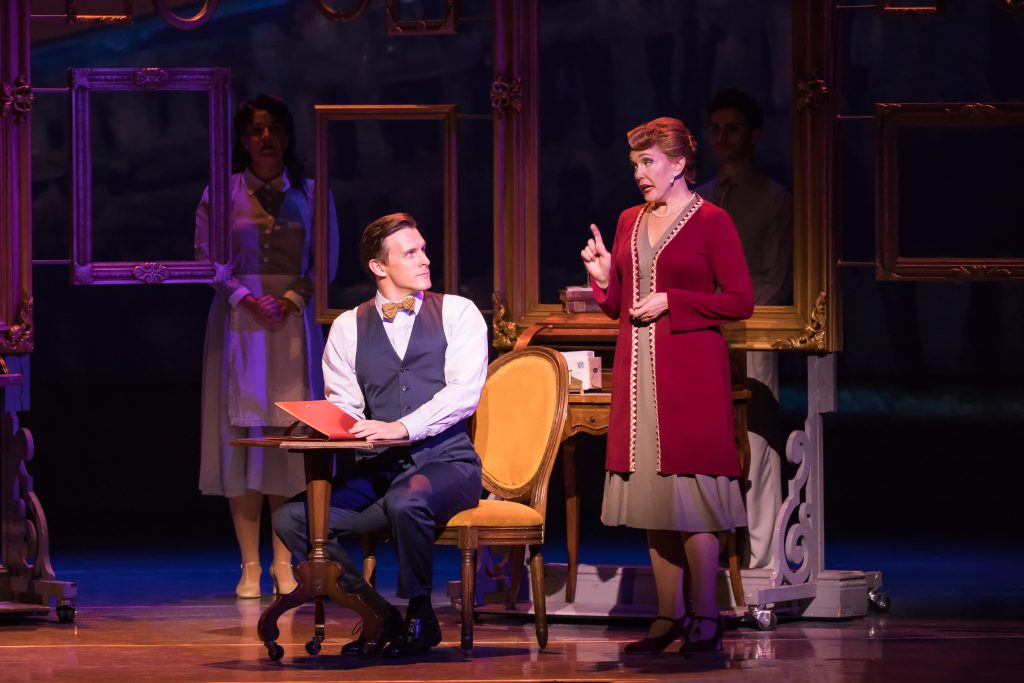 "Ben Michael and Teri Hansen in ""An American in Paris"" presented by Broadway Sacramento at the Commun"