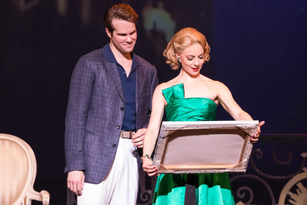 "McGee Maddox and Kirsten Scott in ""An American in Paris"" presented by Broadway Sacramento at the Com"