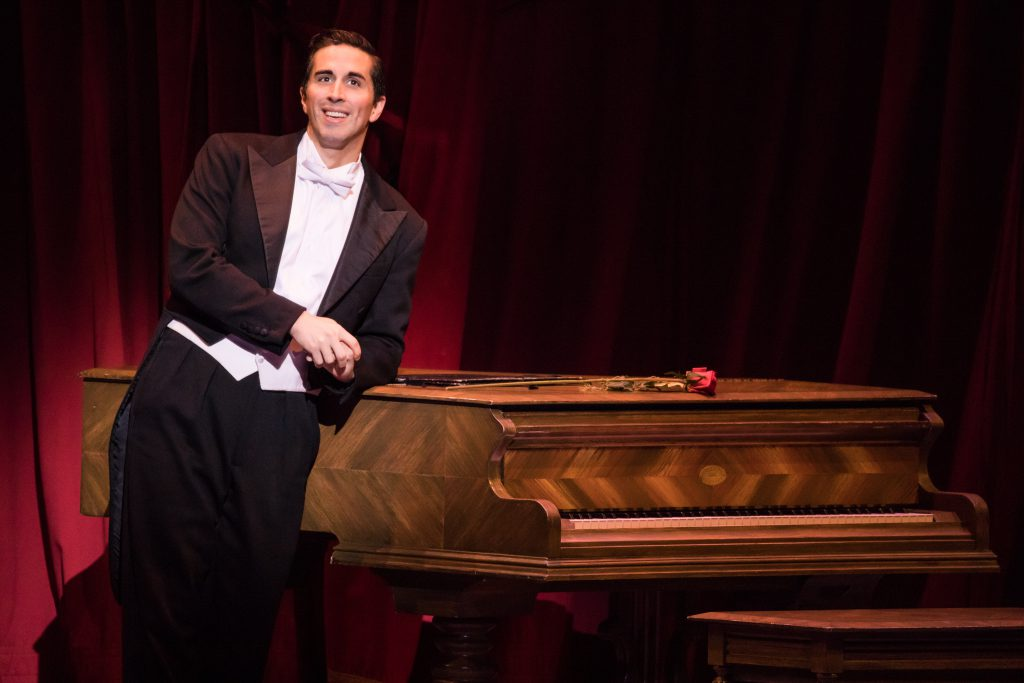 "Matthew Scott in ""An American in Paris"" presented by Broadway Sacramento at the Community Center The"