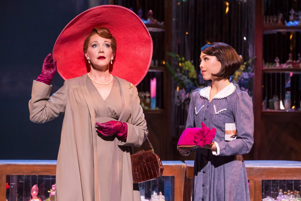 "Teri Hansen and Allison Walsh in ""An American in Paris"" presented by Broadway Sacramento at the Comm"
