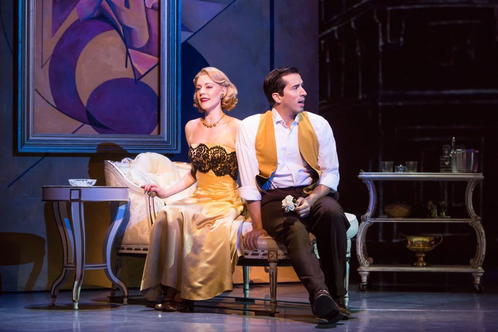 "Kirsten Scott and Matthew Scott in ""An American in Paris"" presented by Broadway Sacramento at the Co"