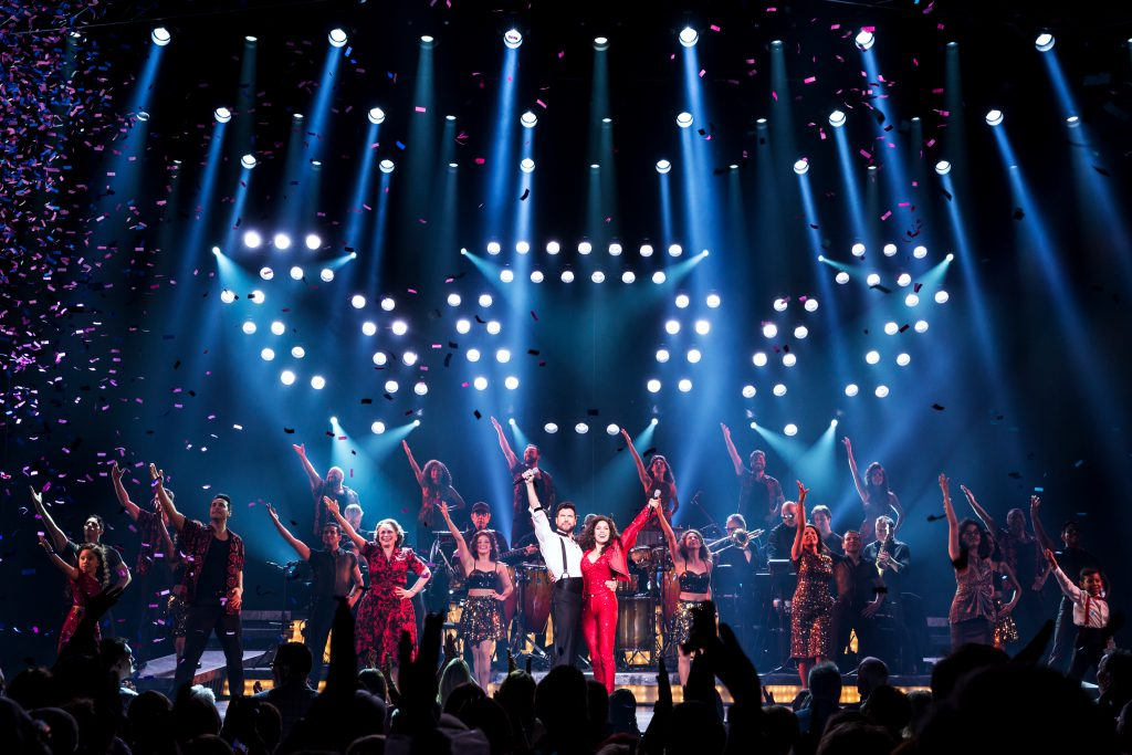 Company of the Broadway On Tour presentation of ON YOUR FEET! Oct. 30 – Nov. 4, 2018 at the Sacramento Community Center Theater. Photo by Matthew Murphy.