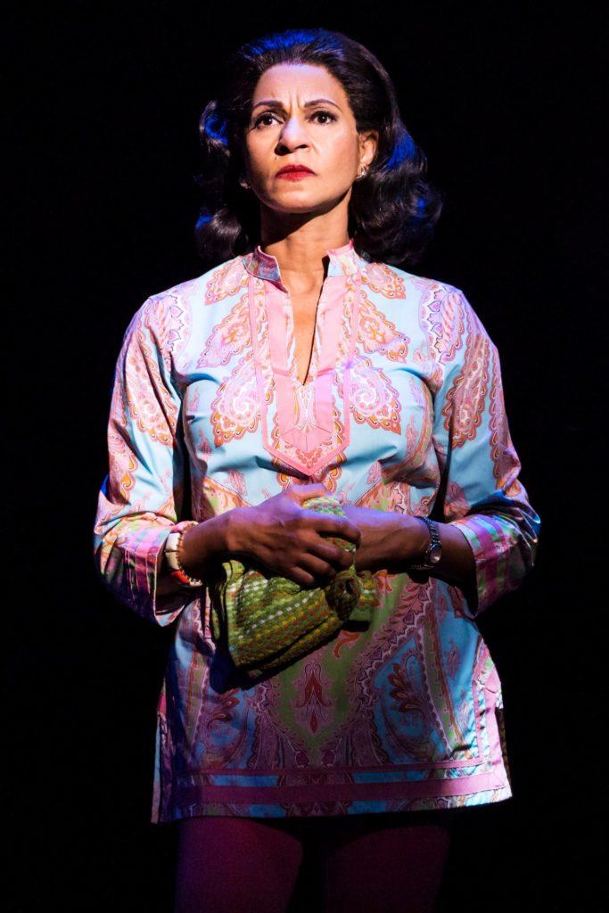 Nancy Ticotin as Gloria Fajardo in the Broadway On Tour presentation of ON YOUR FEET! Oct. 30 – Nov. 4, 2018 at the Sacramento Community Center Theater. Photo by Matthew Murphy.