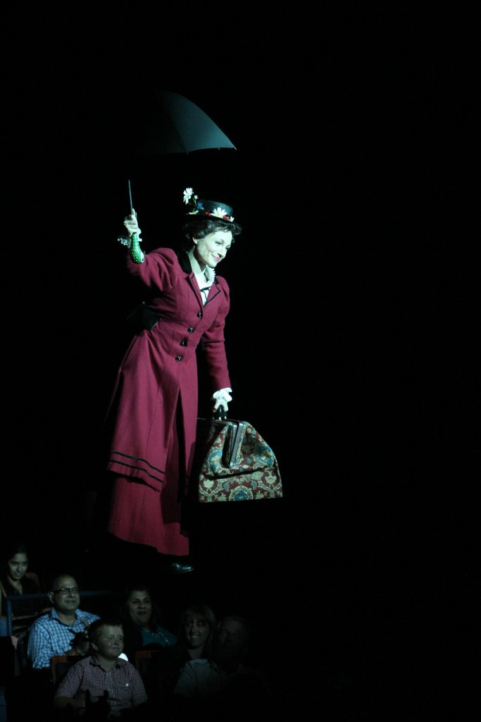 Kelly McCormick (Mary Poppins) in Mary Poppins, produced by Music Circus at the Wells Fargo Pavilion in 2014. Photos by Charr Crail.