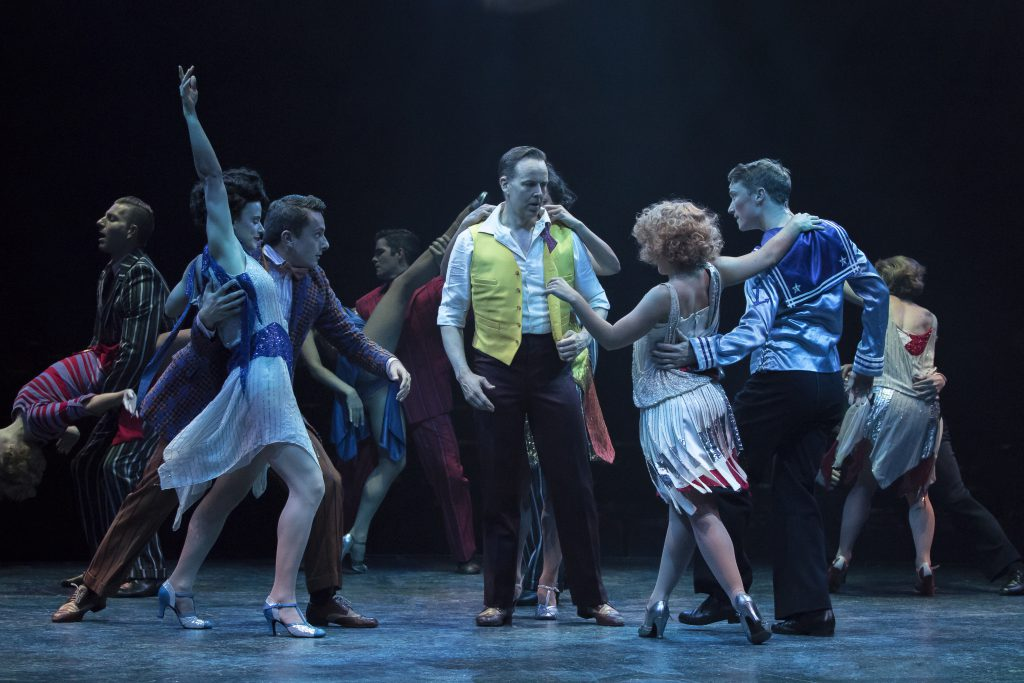 Company of SINGIN' IN THE RAIN, produced by Broadway At Music Circus at the Wells Fargo Pavilion Jun