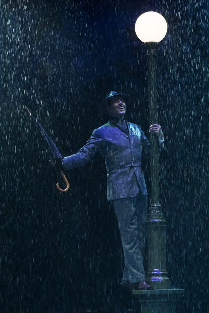 Noah Racey as Don Lockwood in SINGIN' IN THE RAIN, produced by Broadway At Music Circus at the Wells