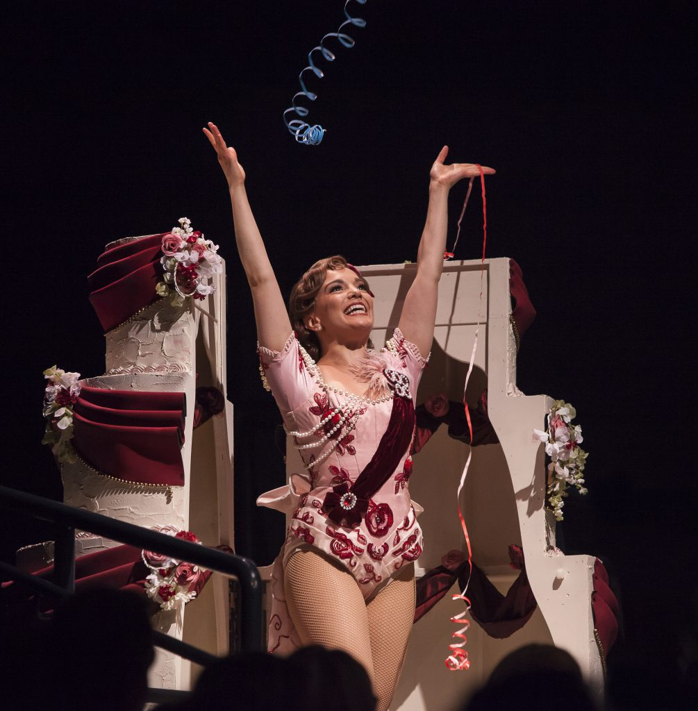 Kara Lindsay as Kathy Selden in SINGIN' IN THE RAIN, produced by Broadway At Music Circus at the Wel