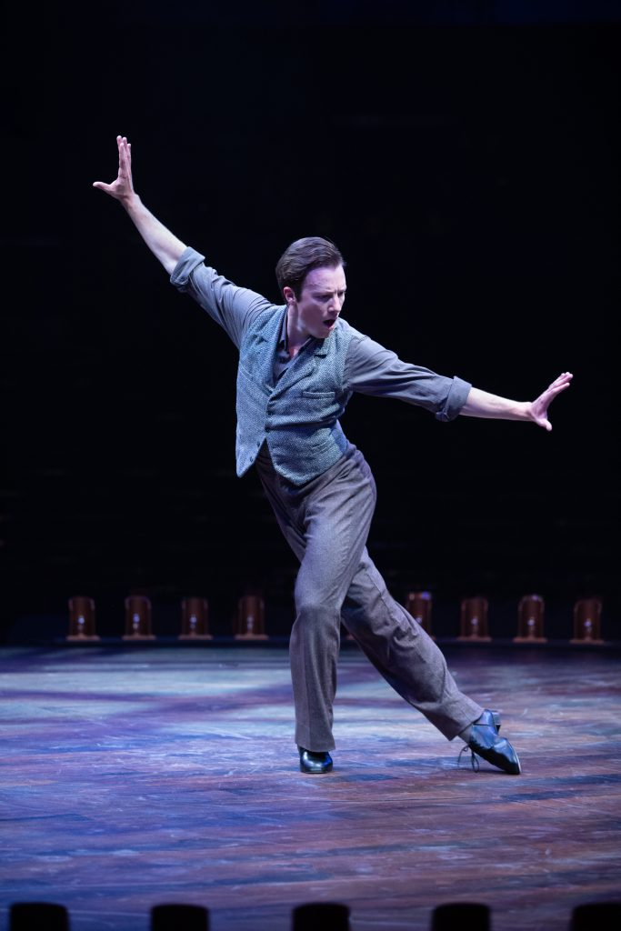 Cory Lingner as Tulsa in GYPSY, produced by Broadway At Music Circus at the Wells Fargo Pavilion Jul