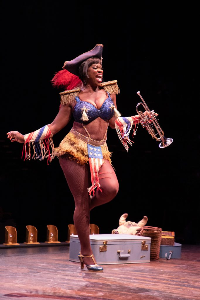 Deidre Goodwin as Mazeppa in GYPSY, produced by Broadway At Music Circus at the Wells Fargo Pavilion