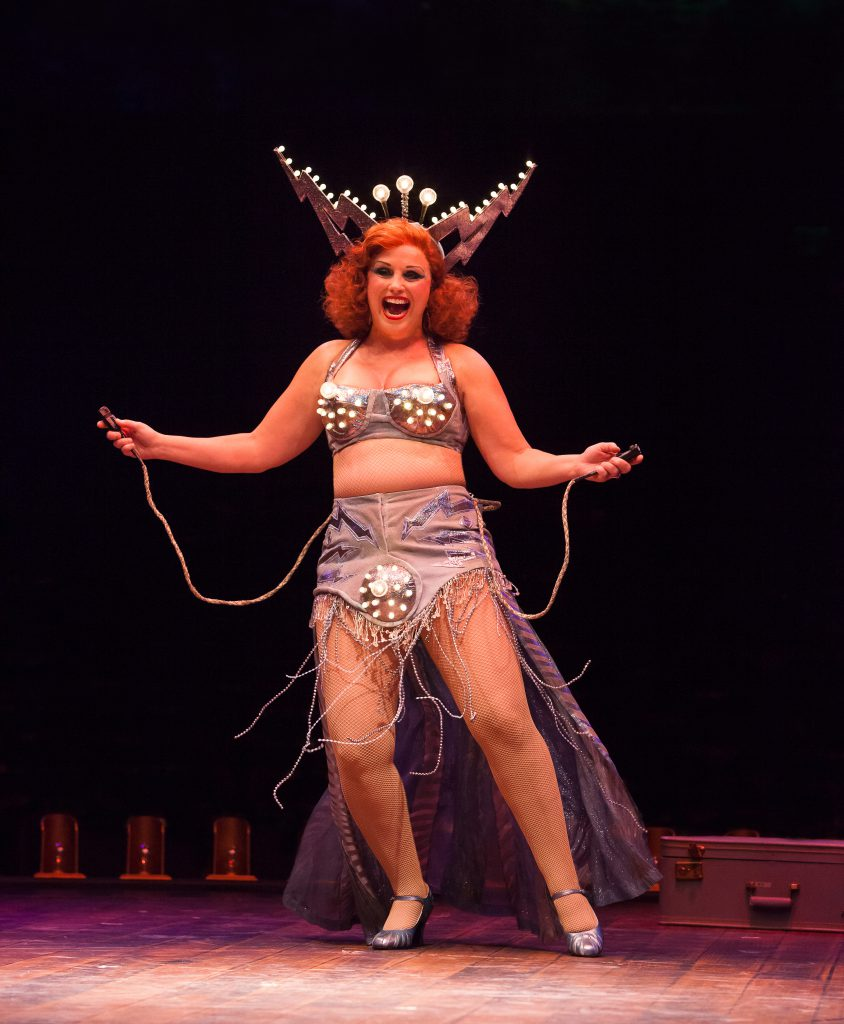 Jacquelyn Piro Donovan as Electra in GYPSY, produced by Broadway At Music Circus at the Wells Fargo
