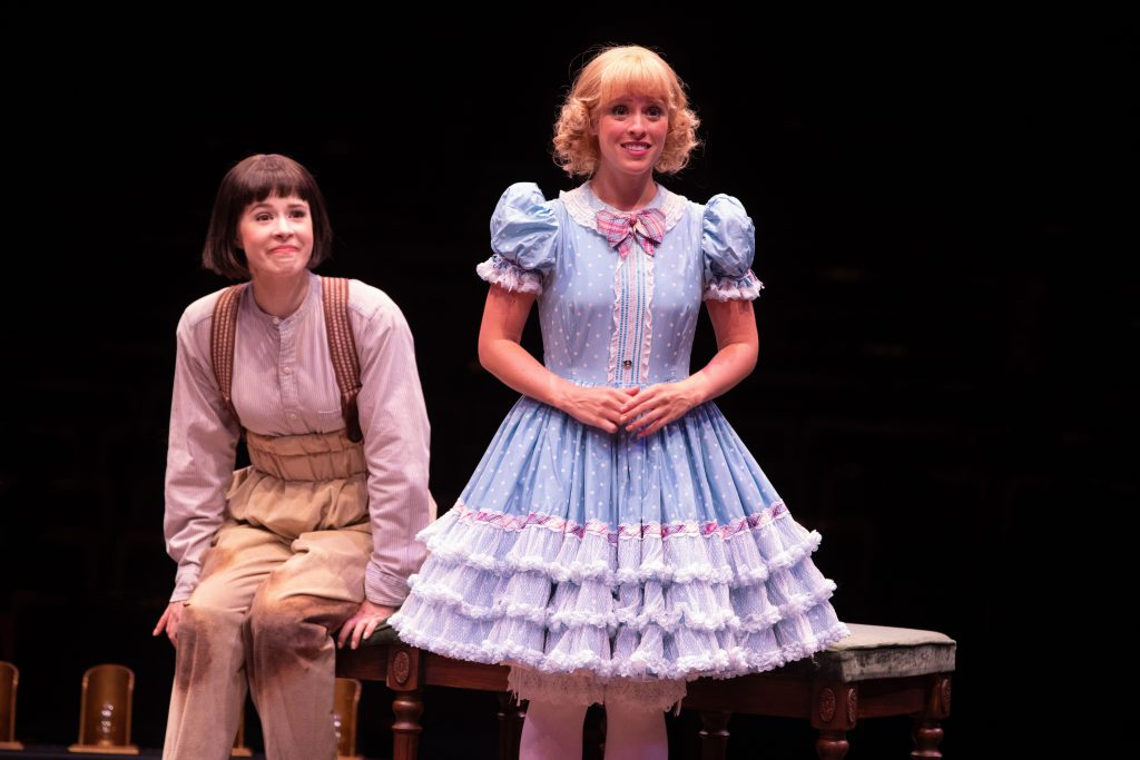 (from L to R) Austen Danielle Bohmer as Louise and Chelsea Turbin as June in GYPSY, produced by Broa