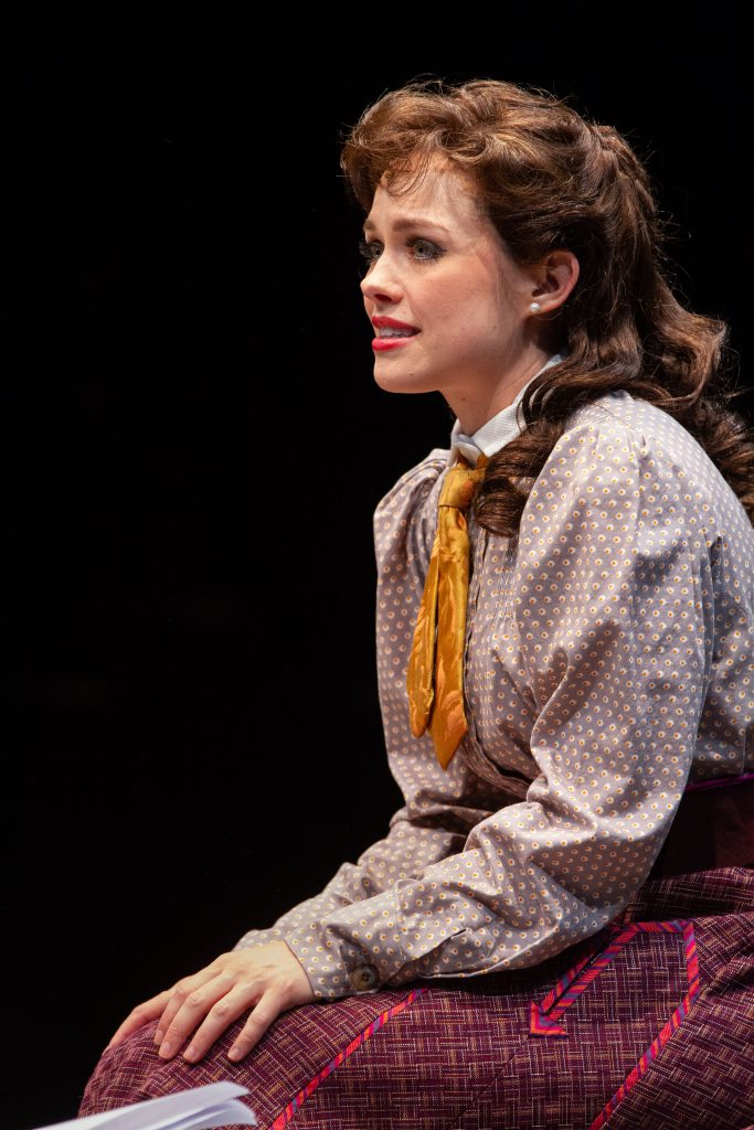 Laurie Veldheer as Katherine in DISNEY'S NEWSIES, produced by Broadway At Music Circus at the Wells