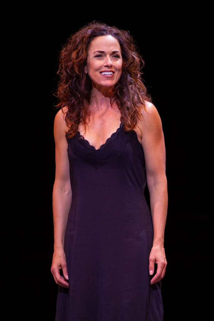 Michelle Dawson as Donna Sheridan in MAMMA MIA!, produced by Broadway At Music Circus at the Wells F