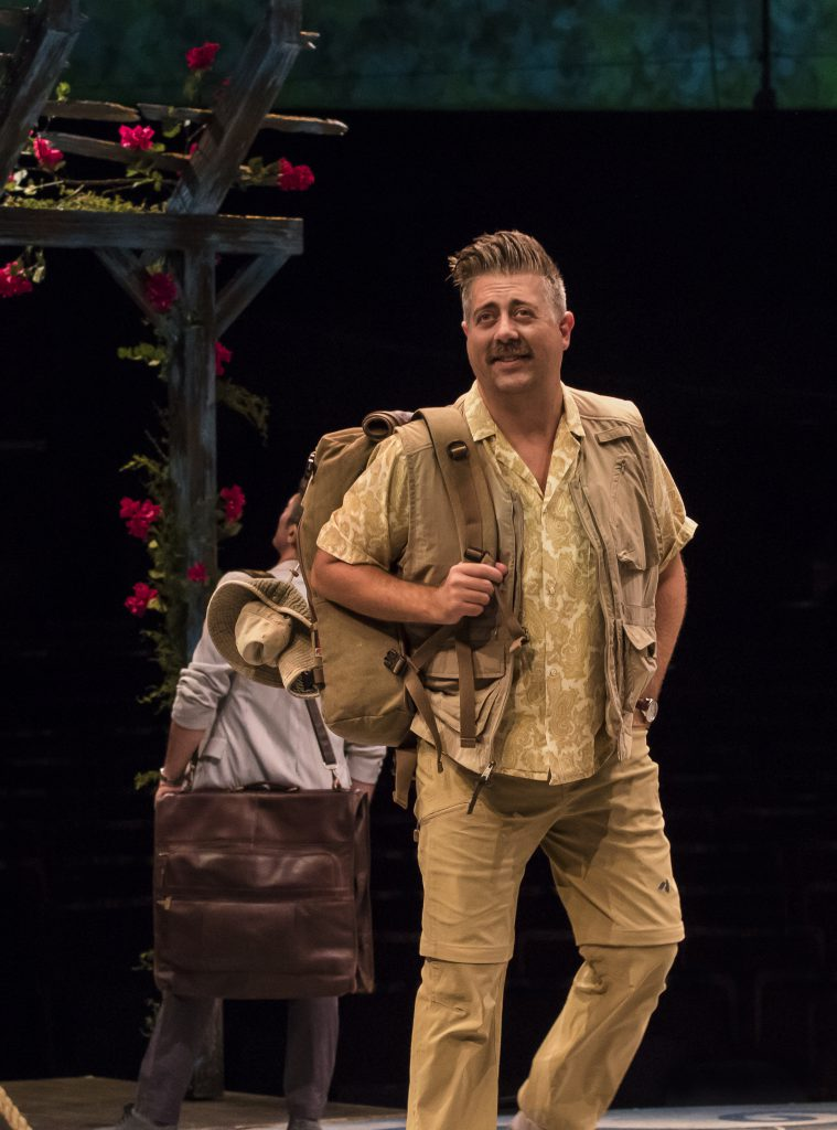 Eric Petersen as Bill Austin in MAMMA MIA!, produced by Broadway At Music Circus at the Wells Fargo