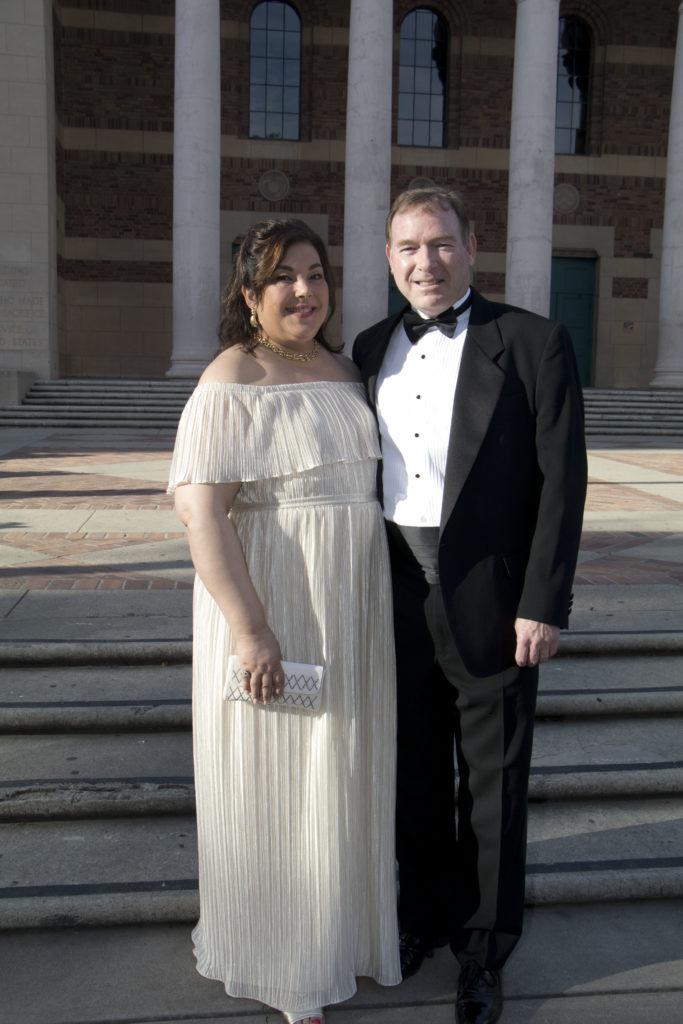 Catherine and John Holzhauser at the Broadway Sacramento Gala May 5, 2018