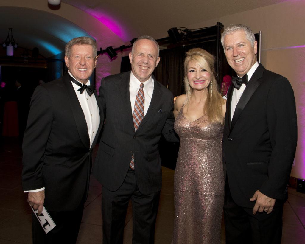 Dennis Mangers, Mayor Darrell Steinberg, Sheila and David Ljung at the Broadway Sacramento Gala May
