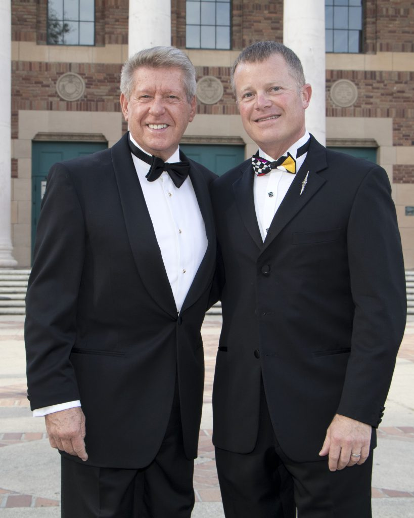 Dennis Mangers and Michael Sestak at the Broadway Sacramento Gala May 5, 2018