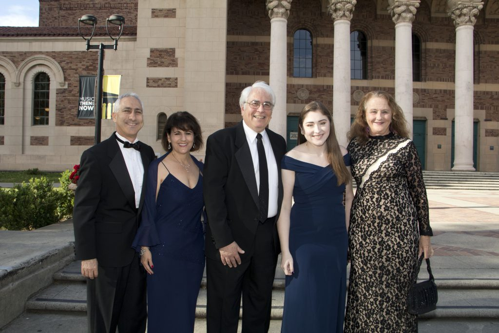 Deon and Liz Stein, Rick Frey, Elena Frey and Board Chairperson Margaret Kane at the Broadway Sacram