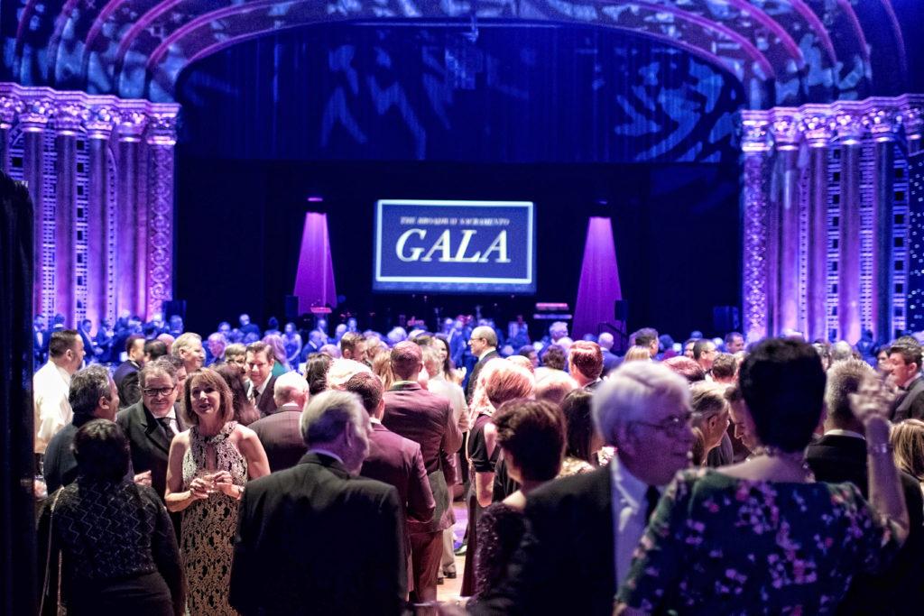Broadway Sacramento Gala May 5, 2018