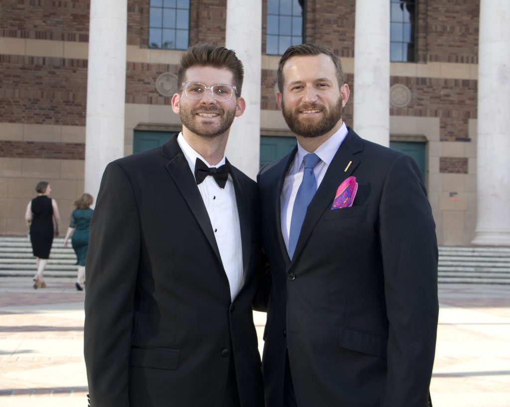 Michael McNulty and Sacramento City Councilman Steve Hansen at the Broadway Sacramento Gala May 5, 2