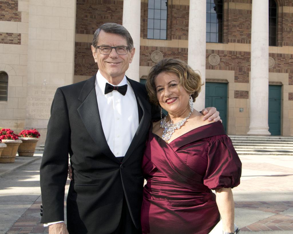 Rick and Zheyla Henriksen at the Broadway Sacramento Gala May 5, 2018