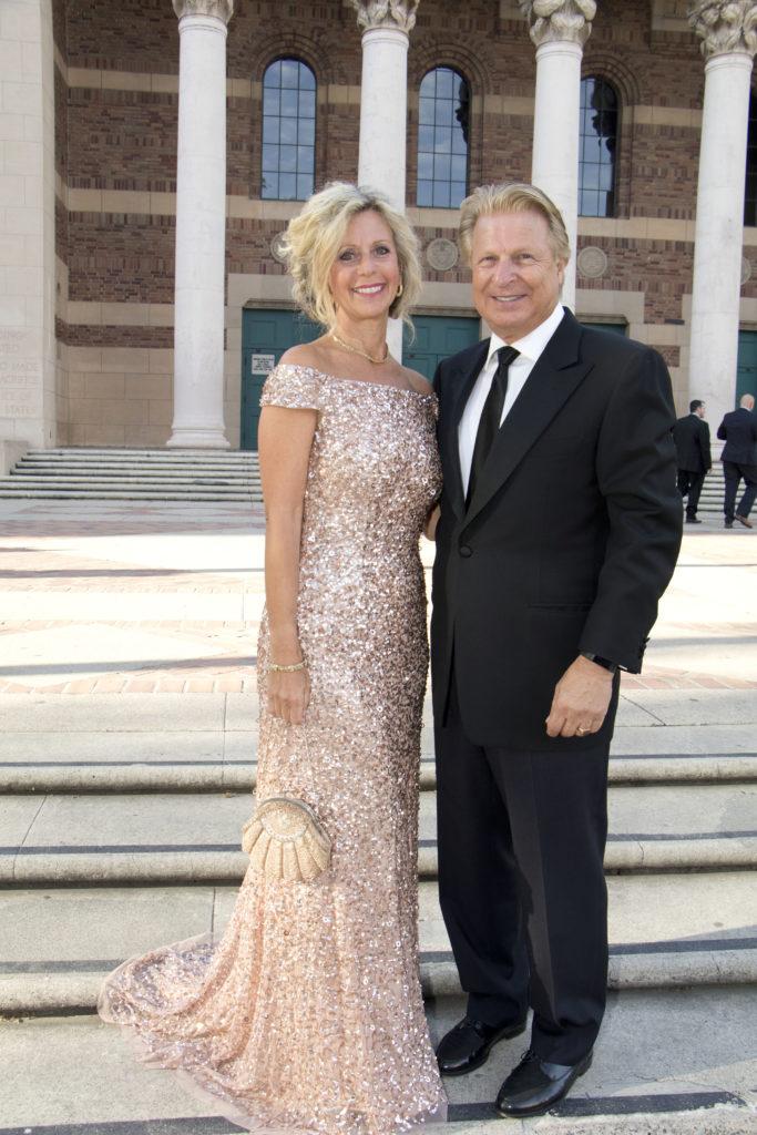 Sharon Gerber Scherer and Rob Scherer at the Broadway Sacramento Gala May 5, 2018