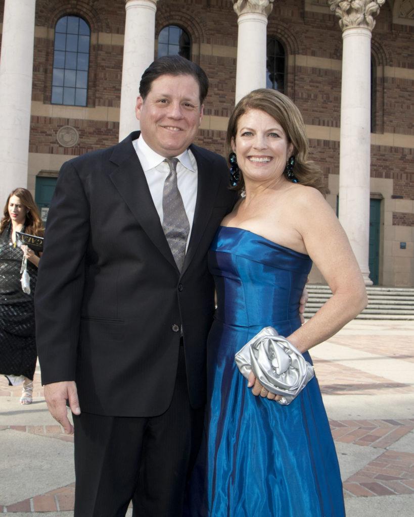 Tony Giorgi and board member Donna Kaylor at the Broadway Sacramento Gala May 5, 2018