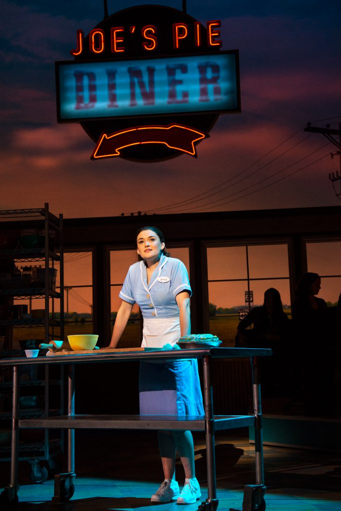 Christine Dwyer as Jenna in the Broadway On Tour presentation of WAITRESS at the Sacramento Community Center Theater Dec. 27, 2018 – Jan. 5, 2019. Photo by Philicia Endelman.
