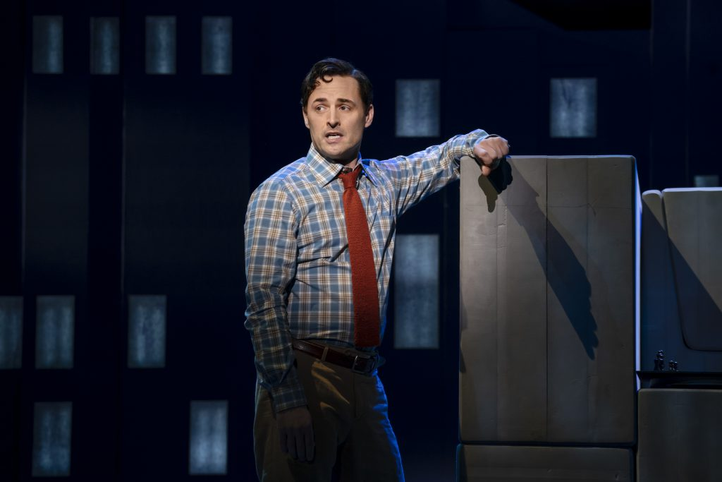 Max von Essen in FALSETTOS presented by Broadway On Tour March 12-17, 2019 at the Sacramento Community Center Theater. Photo by Joan Marcus.