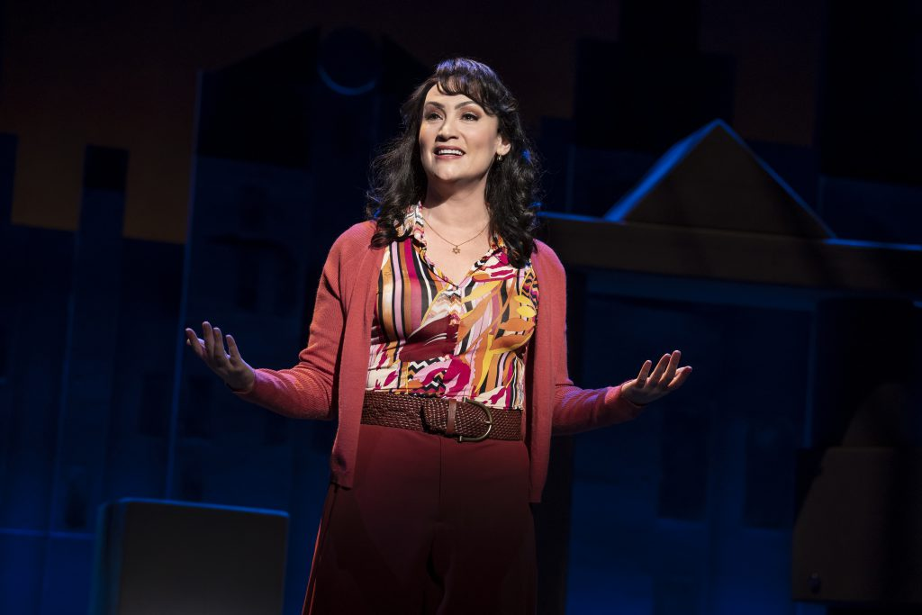 Eden Espinosa in FALSETTOS presented by Broadway On Tour March 12-17, 2019 at the Sacramento Community Center Theater. Photo by Joan Marcus.