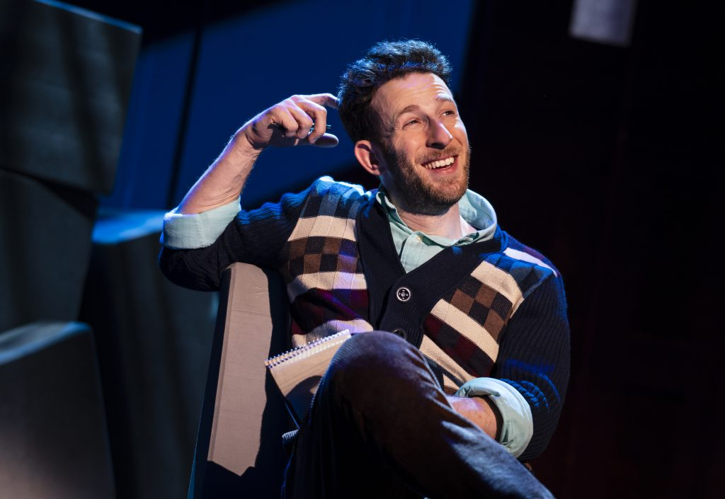 Nick Blaemire in FALSETTOS presented by Broadway On Tour March 12-17, 2019 at the Sacramento Community Center Theater. Photo by Joan Marcus.