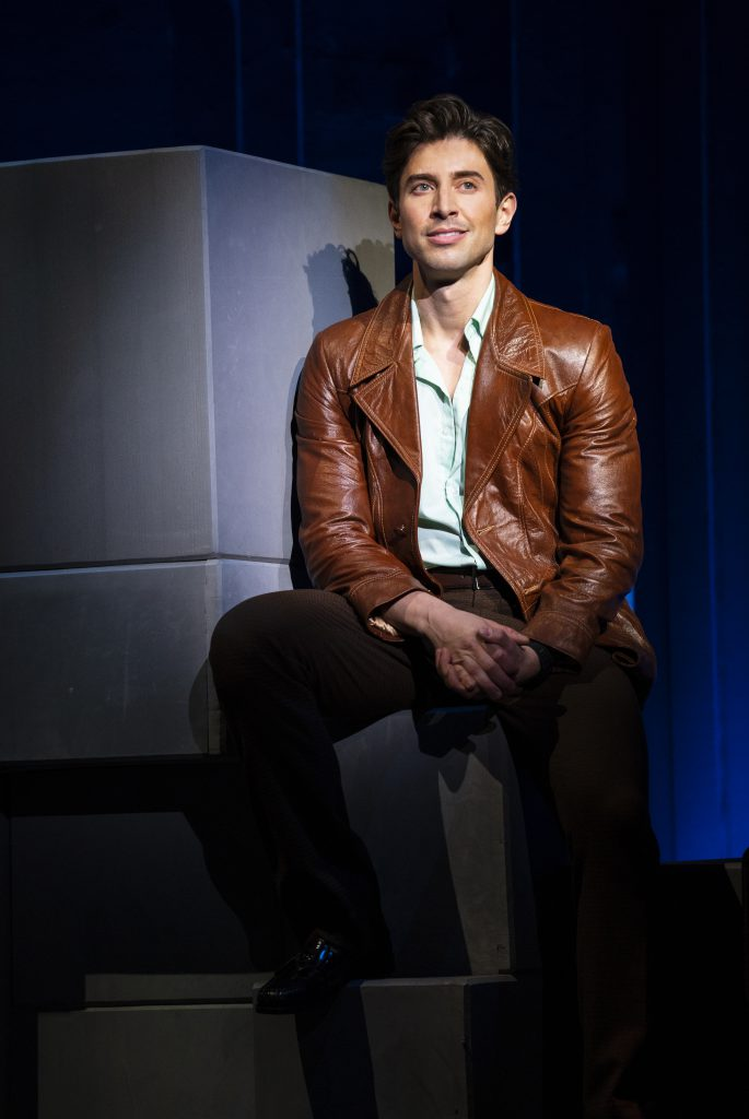 Nick Adams in FALSETTOS presented by Broadway On Tour March 12-17, 2019 at the Sacramento Community Center Theater. Photo by Joan Marcus.